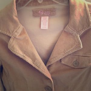 Tan women's blazer